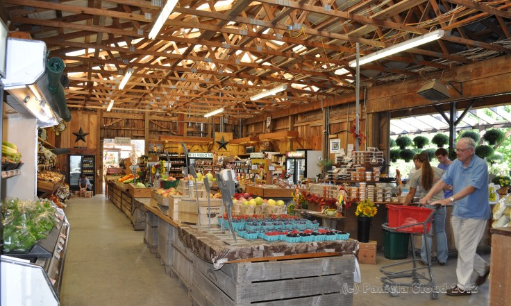 Pete's Produce, Interior