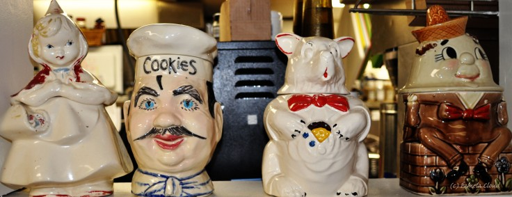 Cookie Jars at the Country Deli