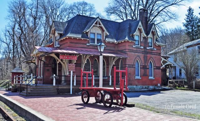 Glen Mills Train Station