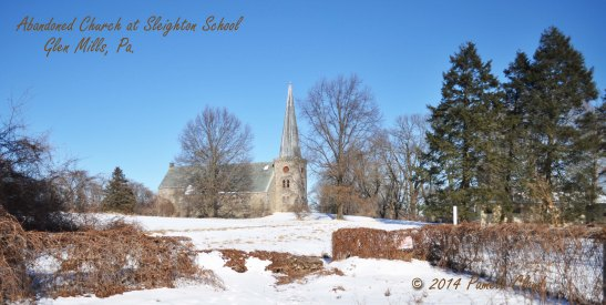 Abandoned Church at Sleighton School