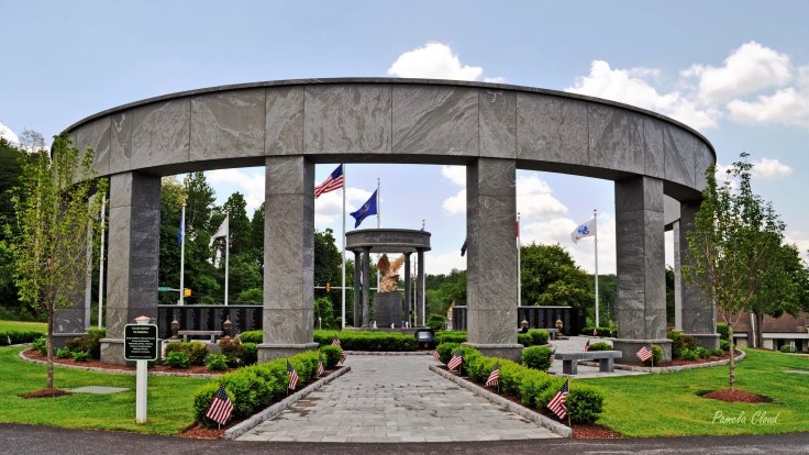 Delaware County Veterans Memorial Entrance